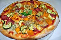 Traditional Italian pizzas
