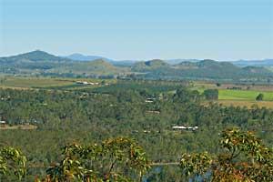 The Seven Sisters volcanic formation, Yungaburra, North Queensland