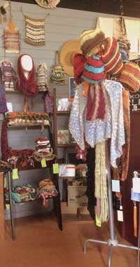 On the Verandah - classes in weaving, knitting and crochet